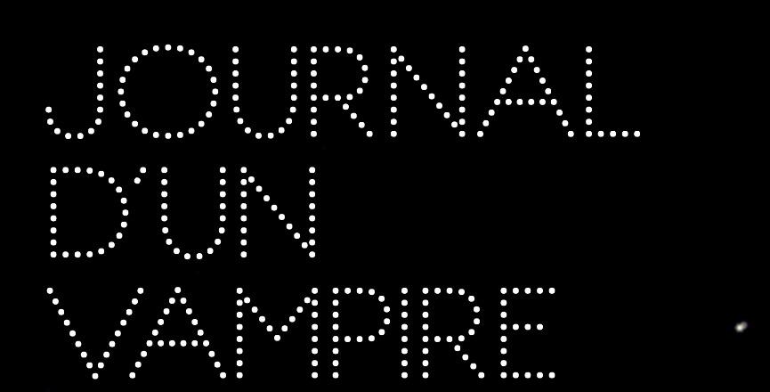 Journal d'un vampire en pyjama – Mathias Malzieu